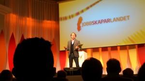 Konferencier Peter Settman, toppen!